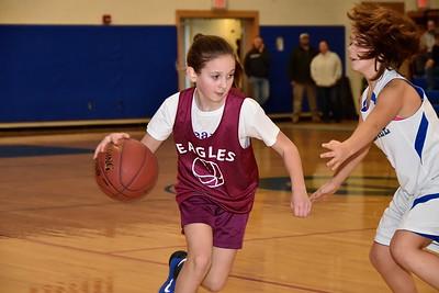 AMHS Girls M.S. Basketball vs Granville photos by Gary Baker