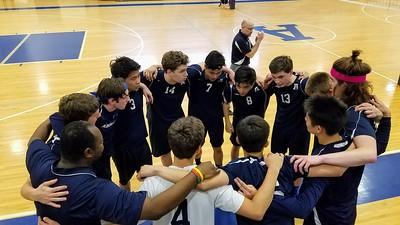 Boys Varsity Volleyball vs. Exeter