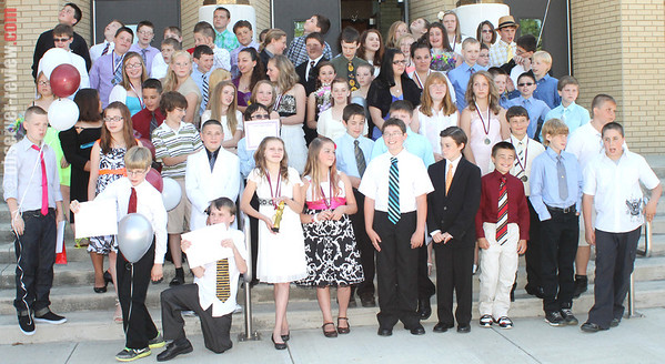 Dundee 6th Grade Graduation 2013