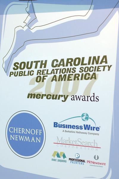 2007 SCPRSA Mercury Awards