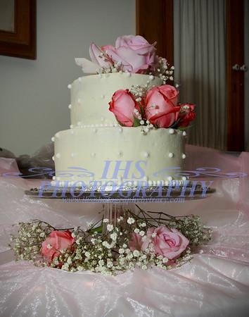 Hintz Wedding - Cake Cutting