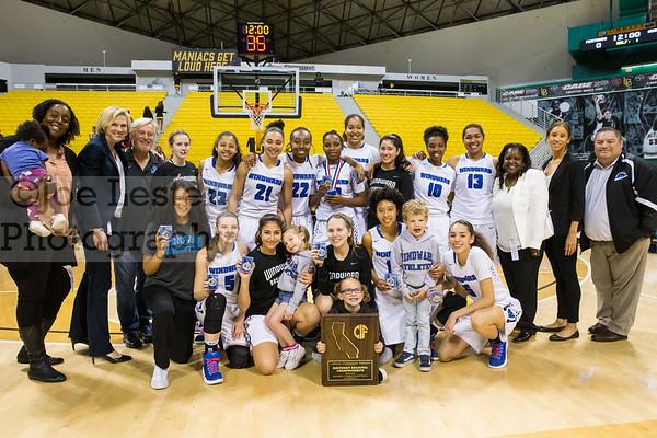 WS Girls Basketball vs Ventura 3-18-17 (CIF Regional Championship)