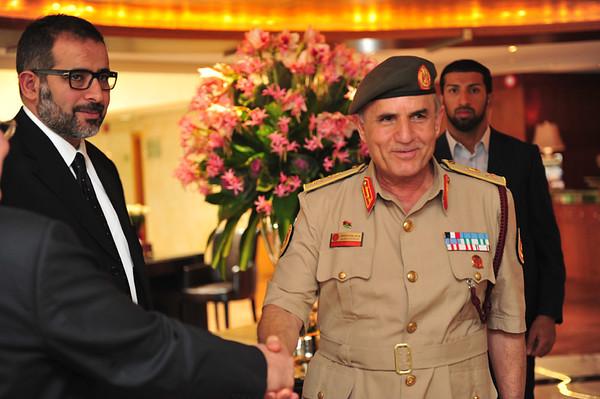 Visit to the UAE by Chief of Army Staff of Libya Yusuf Al-Mangoush