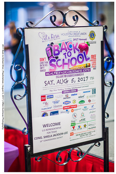 2017 Back to School Drive