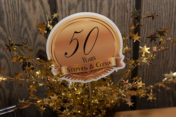 Stephen & Cleva 50th Anniversary