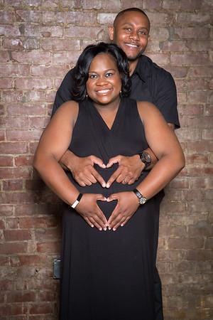 Angela & Kyonn Genes Maternity Photo Shoot