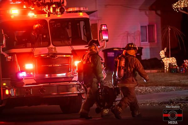 Westland MI, Stove Fire 12-11-2019