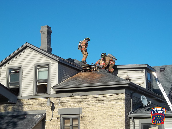 House fire on August 14, 2011