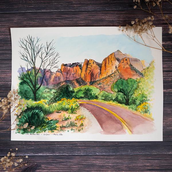 Road into Zion