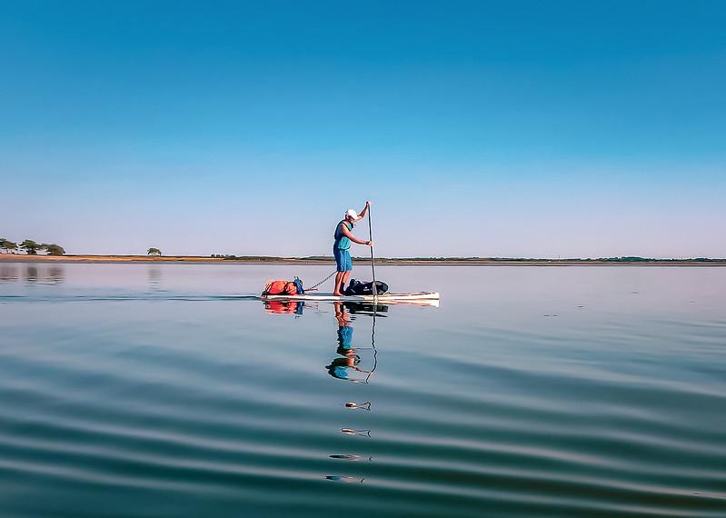 La Loire intégrale en Stand Up Paddle, plongée au coeur d'un fleuve sauvage