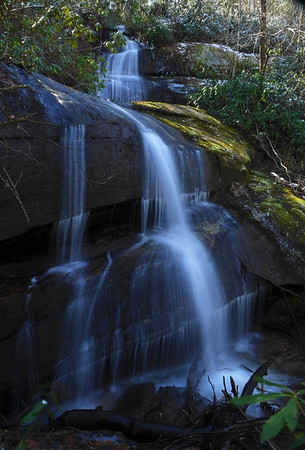 Waterfall on Jane Cantrell Creek