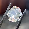 2.12ct Octagonal Flat Cut Diamond, GIA M VS2 33