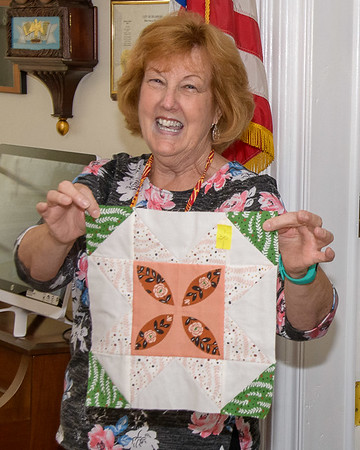 Gen Henry Dearborn Quilting Society Ugly Fat Quarter Challenge