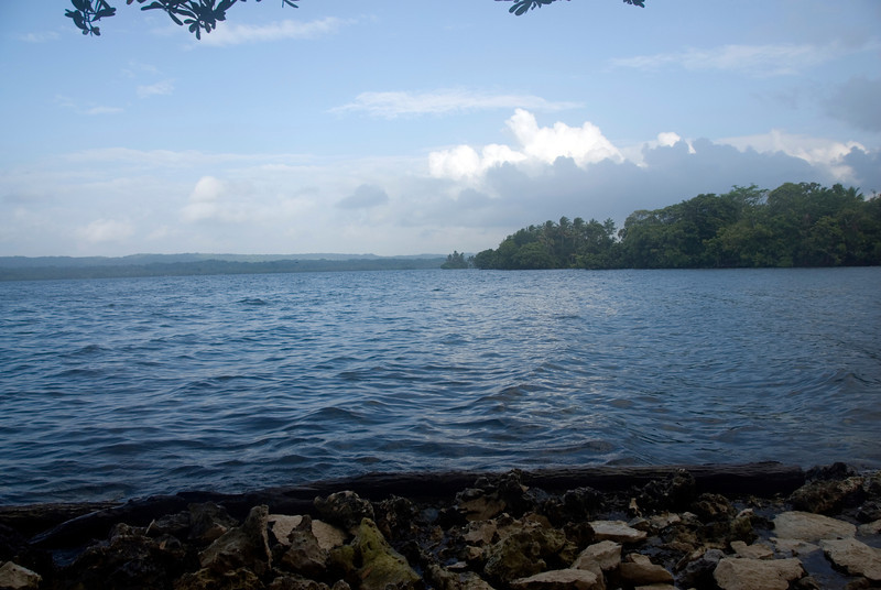 Shore of Lake Tengao, Rennell Island - Solomon Islands