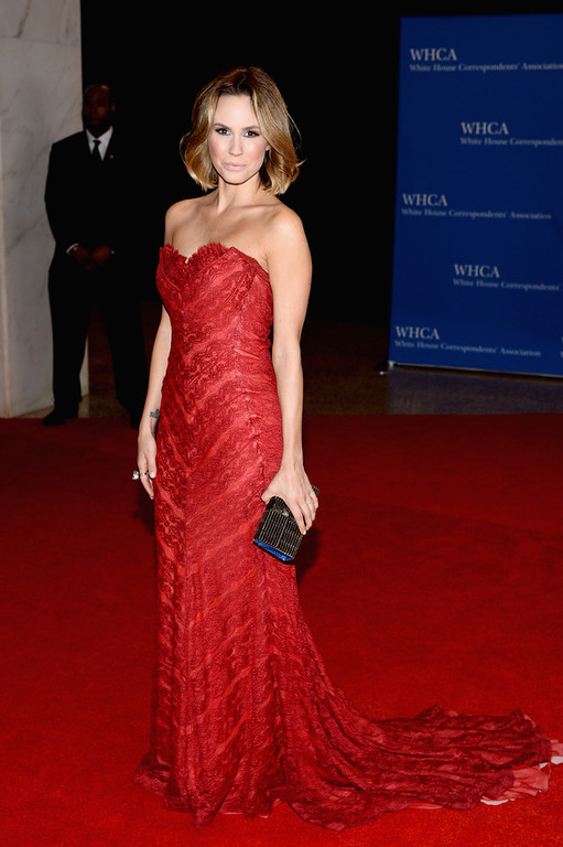 . Keltie Knight attends the 100th Annual White House Correspondents\' Association Dinner at the Washington Hilton on May 3, 2014 in Washington, DC.  (Photo by Dimitrios Kambouris/Getty Images)