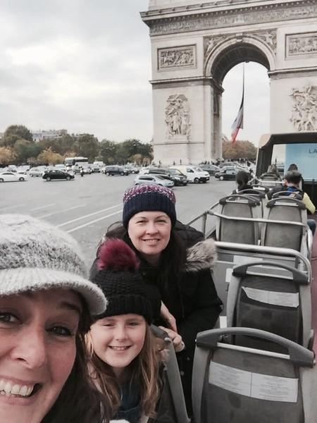 Arc de Triomphe, Champs Elysées, Paris, France