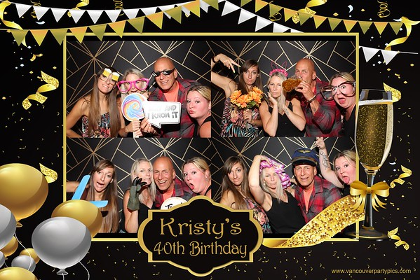 Kristy's 40th