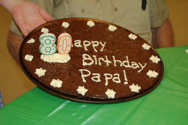 Papa's 80th birthday 7-9-2009