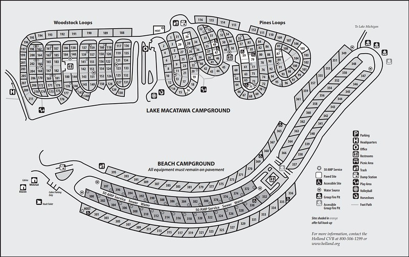 Holland State Park (Campground Maps)