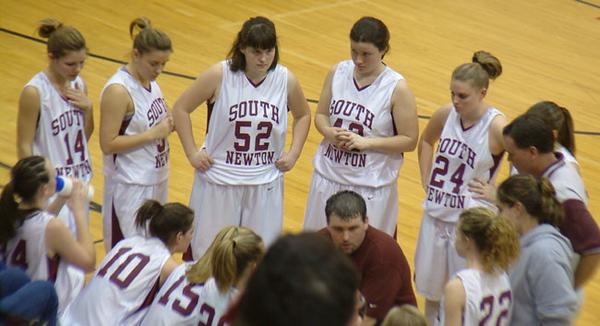 SNHS Girls Basketball vs Caston - Sectional 2005
