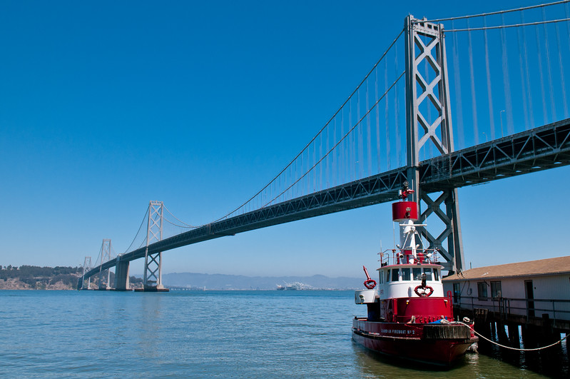 San Francisco - Bay Bridge from the Wharf-1.jpg