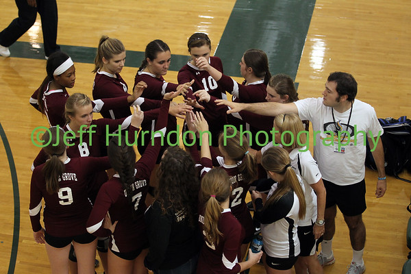 UGHS Volleyball 9-9-14