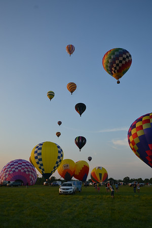 Evening Launch, 3 Doors Down and Night Time Balloon Glow