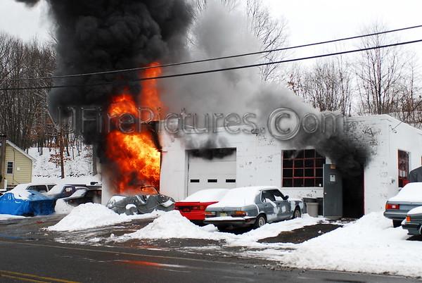 Roxbury Twp, NJ General Alarm 219 Berkshire Valley Rd. February 26, 2007