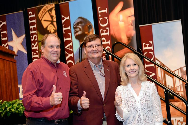 Porter Garner, Mark Hussey, Kathleen Gibson