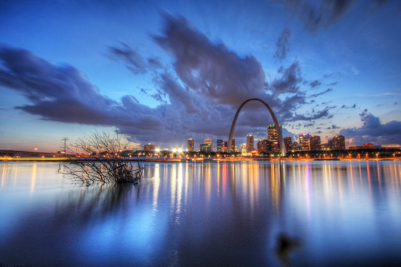 Gateway to Big Sky Country (HDR) The Gateway Arch, St. Louis, MO, USA