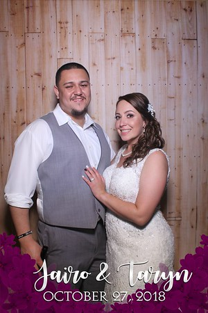 Taryn and Jairo's Wedding Mirror Booth 2018