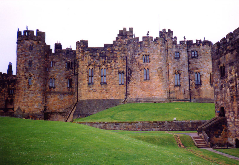 Alnwick Castle...home of the mighty Percys and Harry Hotspur.