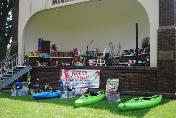 Durand Youth Fishing Contest picnic - July 27, 2019