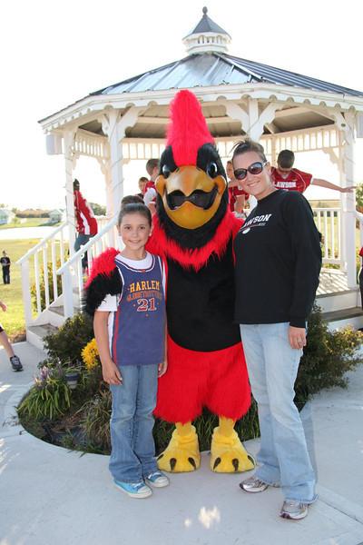 Homecoming Bonfire and Rally 2011