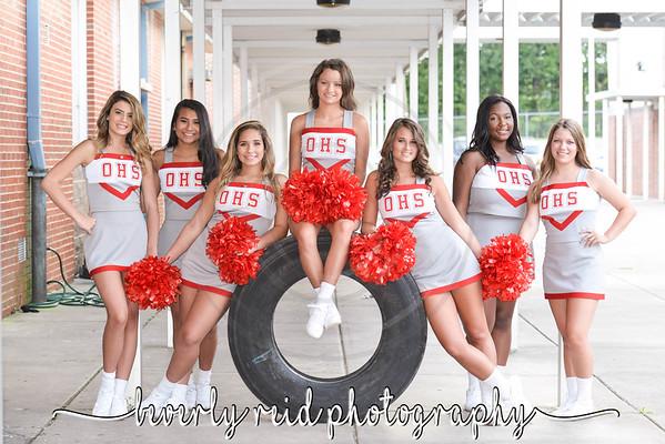 2018-2019 OHS Junior Cheerleaders