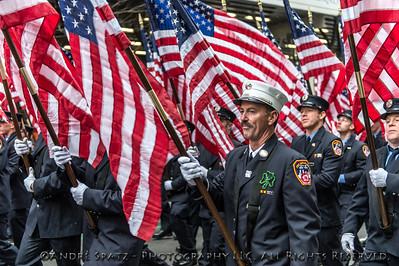 The 252nd Saint Patrick's Day Parade in New York City