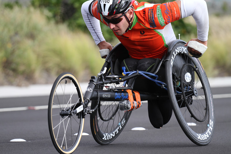 I have a ton of respect for the hand cycle division