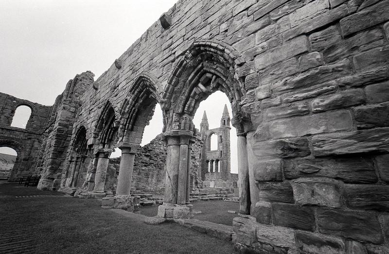 Cloisters, St Andrews Abbey, Fife