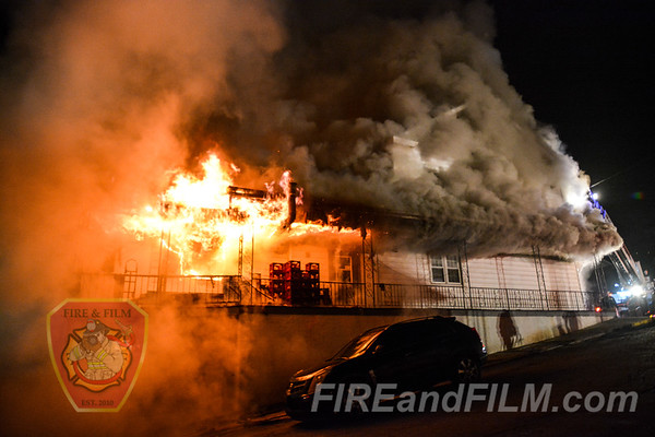 Schuylkill County - Ashland Borough - Building Fire - 03/24/2019