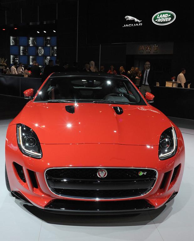 . Jaguar 2015 F-Type Coup at the 2013 LA Auto Show in Los Angeles, California, USA, 20 November 2013.  EPA/BOB RIHA JR