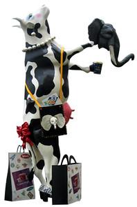 95 Vaca Centro Magno - Artista Gabriel Torres Mancilla - Sponsor Centro Magno