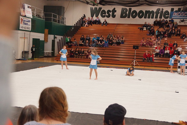 Winter Guard @West Bloomfield 02.03.18