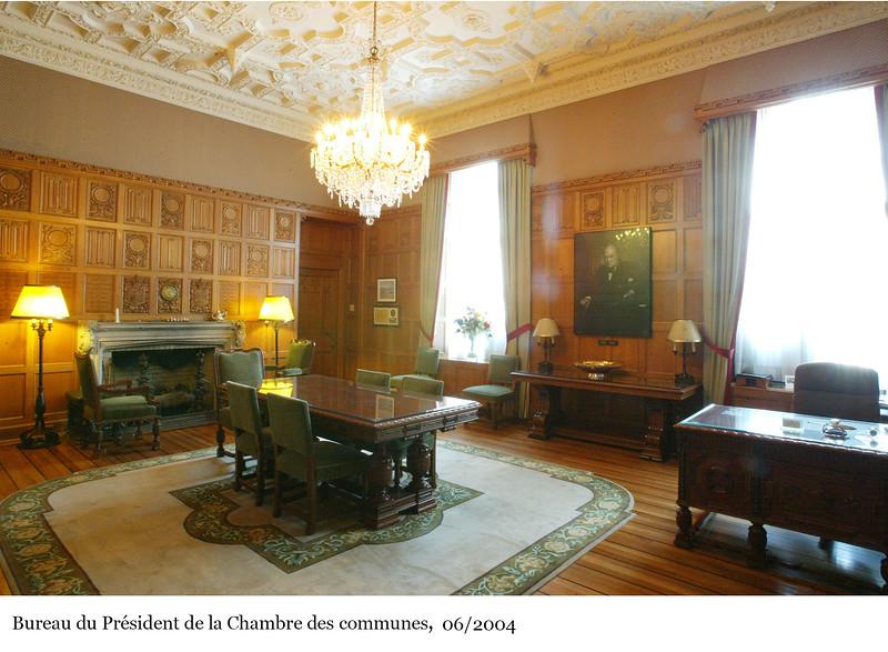 Office of the Speaker of the House of Commons - Bureau du Président de la Chambre des communes, 06/2004