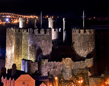 Conwy Castle Panoramic