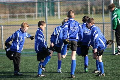 ACV E2 - GVAV Rapiditas oefenwedstrijd 31 januari 2009 Groningen