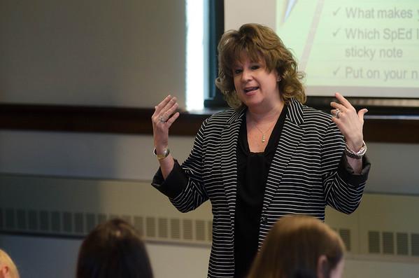 Cheri Bradley Teaching Students