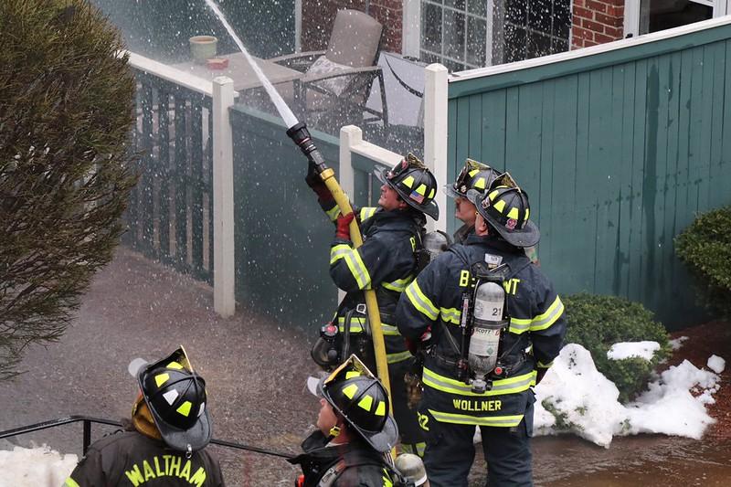 3 Alarm House Fire - 4207 Stearns Hill Rd, Waltham, MA - 3/27/17