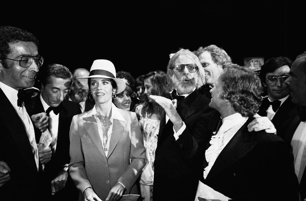 . U.S. actress Jane Fonda arrives at the film festival palace in Cannes for the screening of U.S. entry ?Coming Home? on May 26, 1978 in France. (AP Photo/Levy)