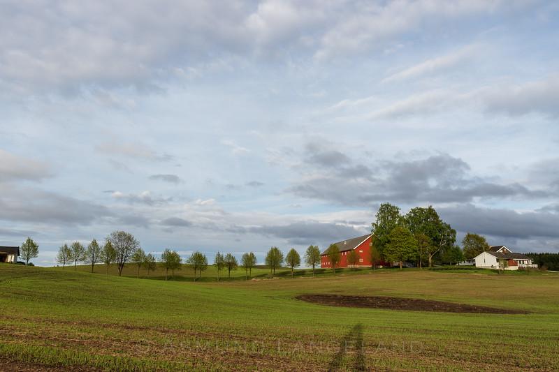 Åsterud gård, Stange