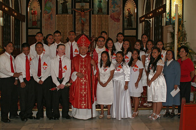 Confirmation 5-31 Class with Bishop Camacho
